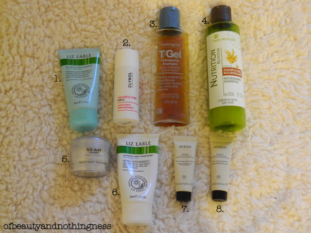 January Empties: Haircare