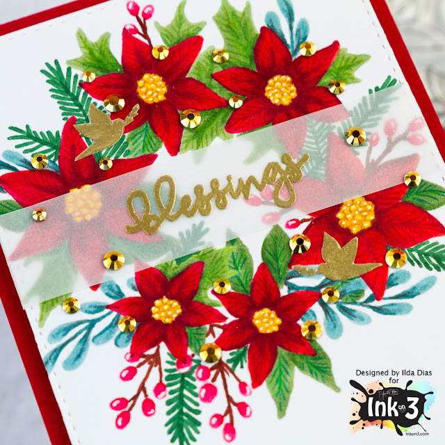 Ink On 3 Holiday Blessings Blog Hop by ilovedoingallthingscrafty.com