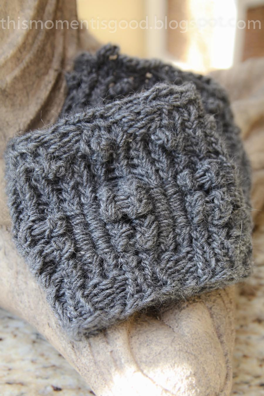 LOOM KNIT TEXTURED BOOT TOPPERS/CUFFS   Loom Knitting by This Moment ...