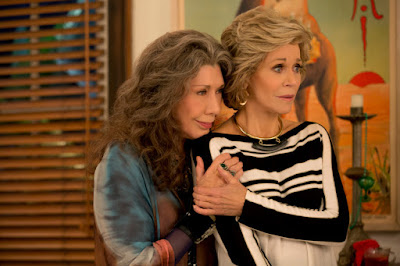 Jane Fonda and Lily Tomlin in Grace and Frankie Season 3