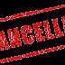 raahgiri cp delhi has been cancelled for 19th march 2017