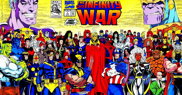La Guerra del Infinito - Portada del Número 1