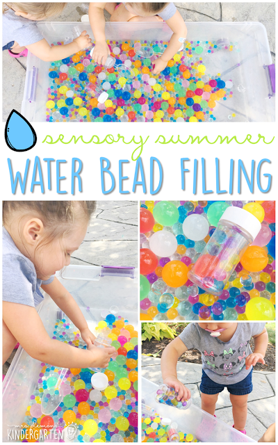 Need ideas for water bead activities? Check out these 10 sensory play ideas. Perfect activities for summer tot school, preschool, or kindergarten sensory bins!