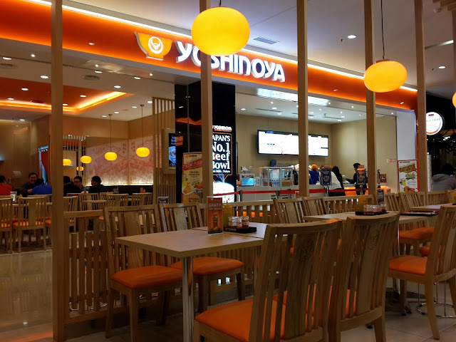 Restaurant Jepang (Yoshinoya) yang Menjamur di Surabaya