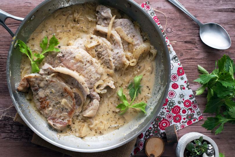 recette roti de porc