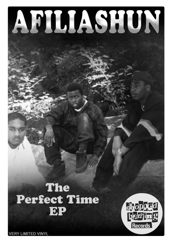 Afiliashun 'The Perfect Time' EP Vinyl Baltimore Chopped Herring Records