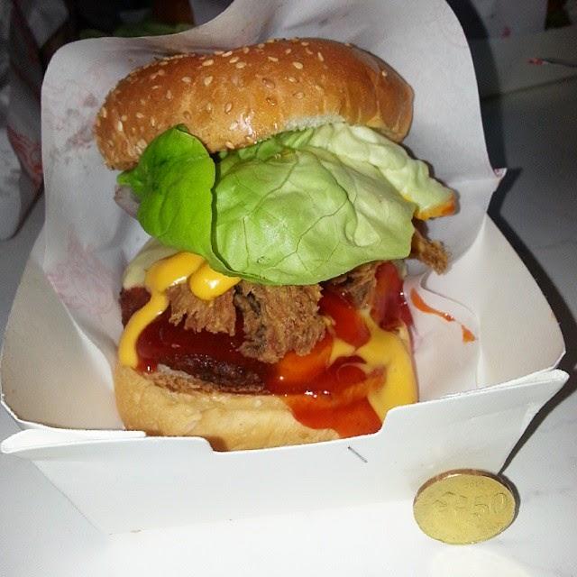 Nama Saya Nadia Burger Bakar Abang Burn Turun Harga Yeaayyy