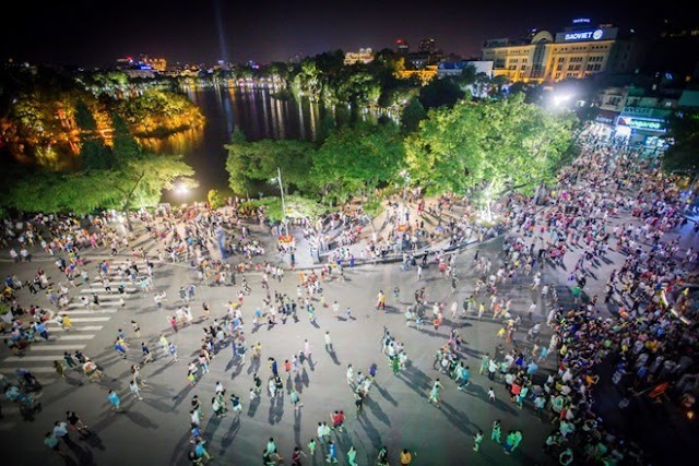 Hanoi will continue piloting the walking areas around Hoan Kiem Lake & the surroundings