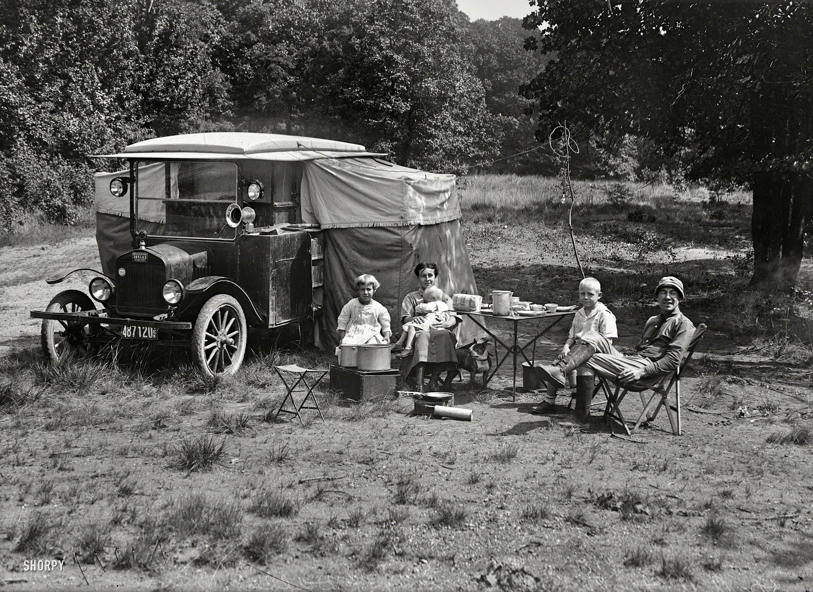 0bd1d1dc33 Car Camping 1920s Style