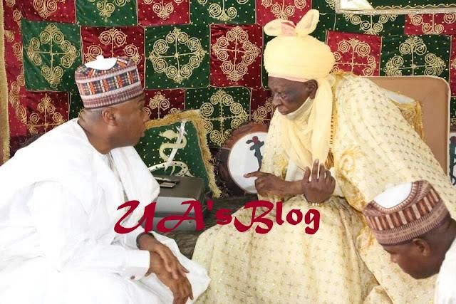 Saraki visits Buhari's hometown, Daura