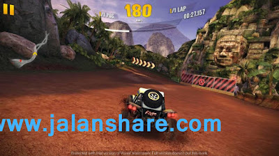 Screenshot Gameplay Asphalt Xtreme Terbaru