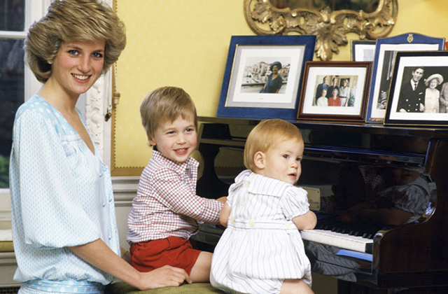 Hijos de Diana Spencer