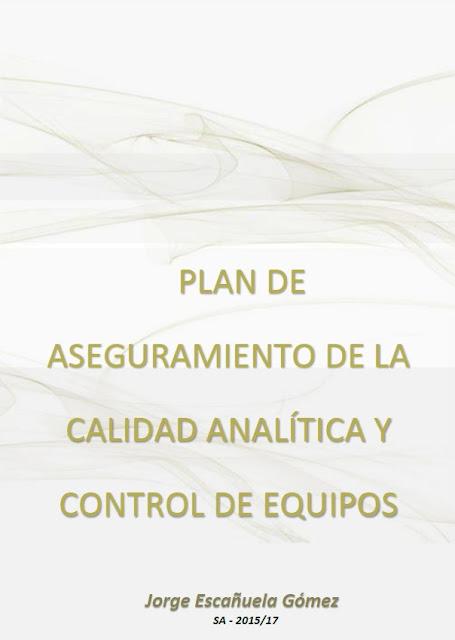 Calidad analítica y control de equipos.