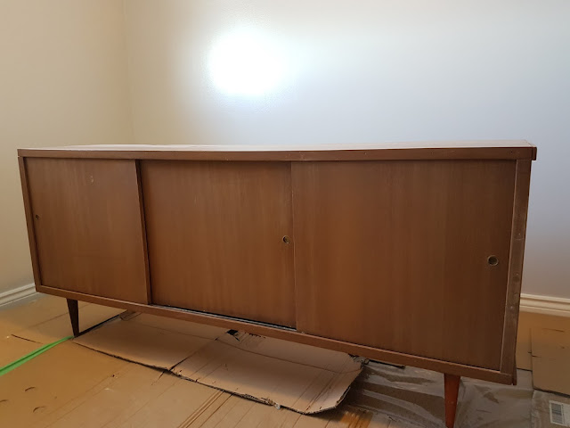 vintage mid-century modern furniture redo, The Camellia