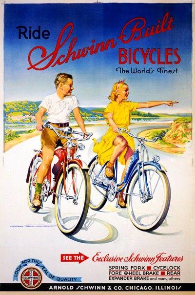 Carteles Vintage Bicicleta - AlfonsoyAmigos