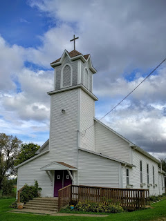 Little Plum Lutheran church, Pepin, Wisconsin