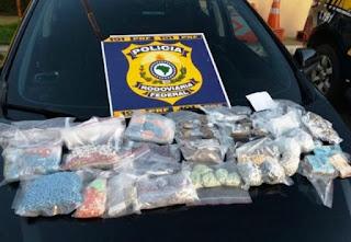 PRF apreende oito mil comprimidos de ecstasy