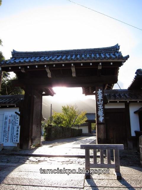 Tenryuji Temple in Arashiyama, Kyoto