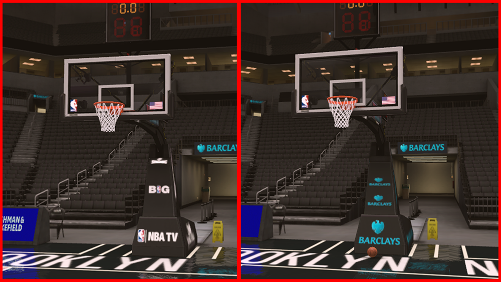 NBA 2K14 Stadium Backboard Mod PC