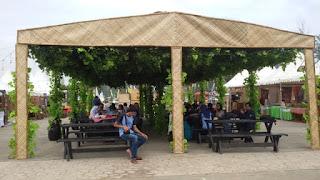 zona kuliner di festival bumi raflesia