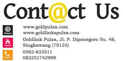 alamat goldlink pulsa