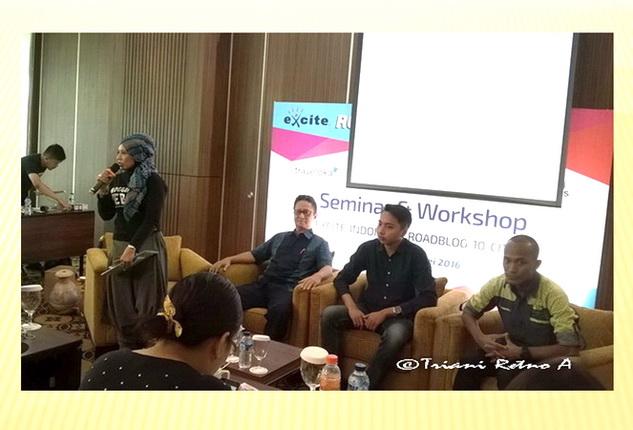 Roadblog Excite Indonesia Blogger Bandung