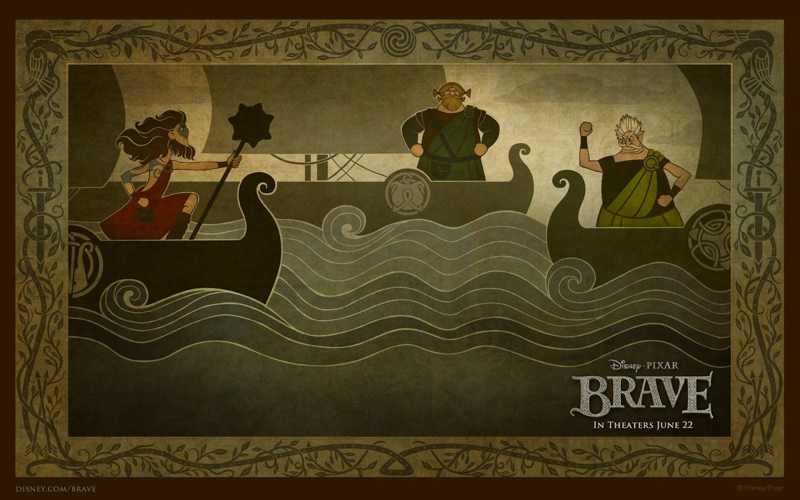 """Teodora's Book Reviews: """"Brave"""" By Disney"""