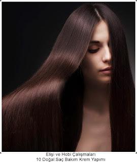 Saç Bakım Kremi Yapımı - Evde Krem Yapımı
