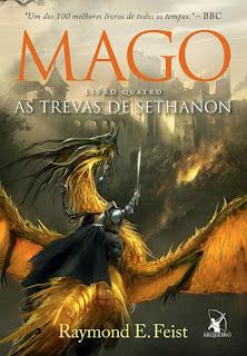 Saga do Mago, Mago, As trevas de Sethanon, Raymond E. Feist, Editora Arqueiro