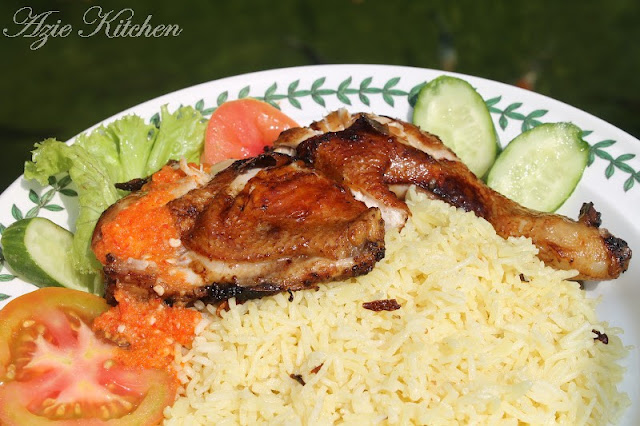 Nasi Ayam Istimewa Yang Sangat Sedap