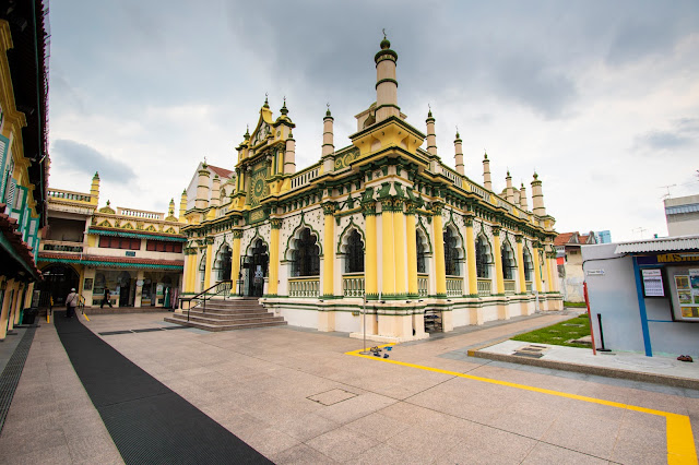 Moschea-Little India-Singapore