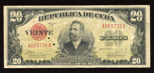 Pesos Silver Certificate currency paper money banknote