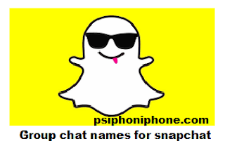 group chat names for snapchat