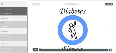 diabetes fitness, layout, exercício físico, atividade física