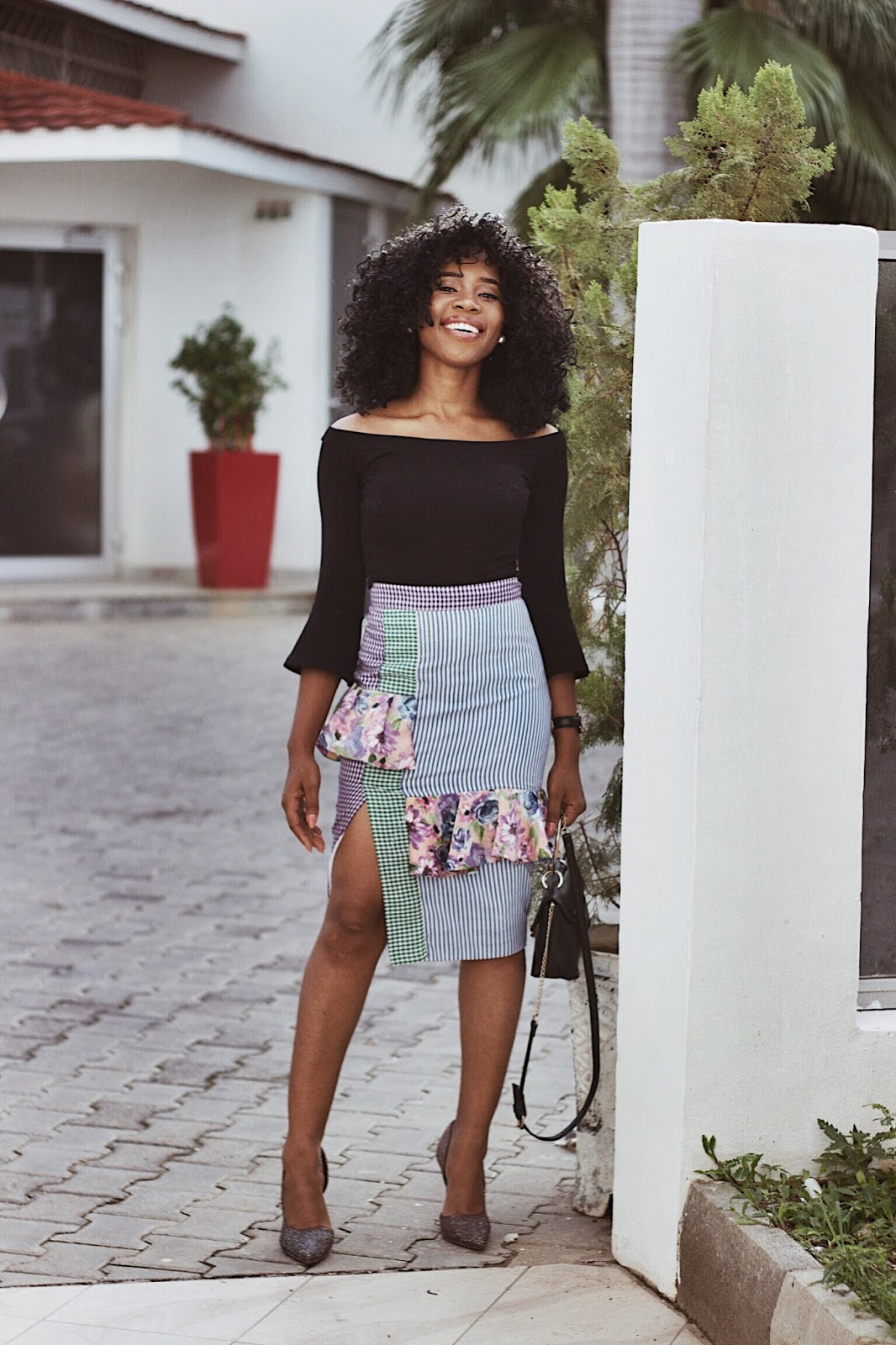 FRUSTRATION OF NOT BEING GOOD ENOUGH x ANKARA SKIRT