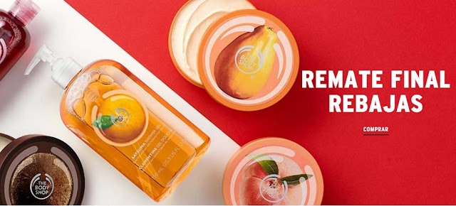 Rebajas en The Body Shop - Enero 2017