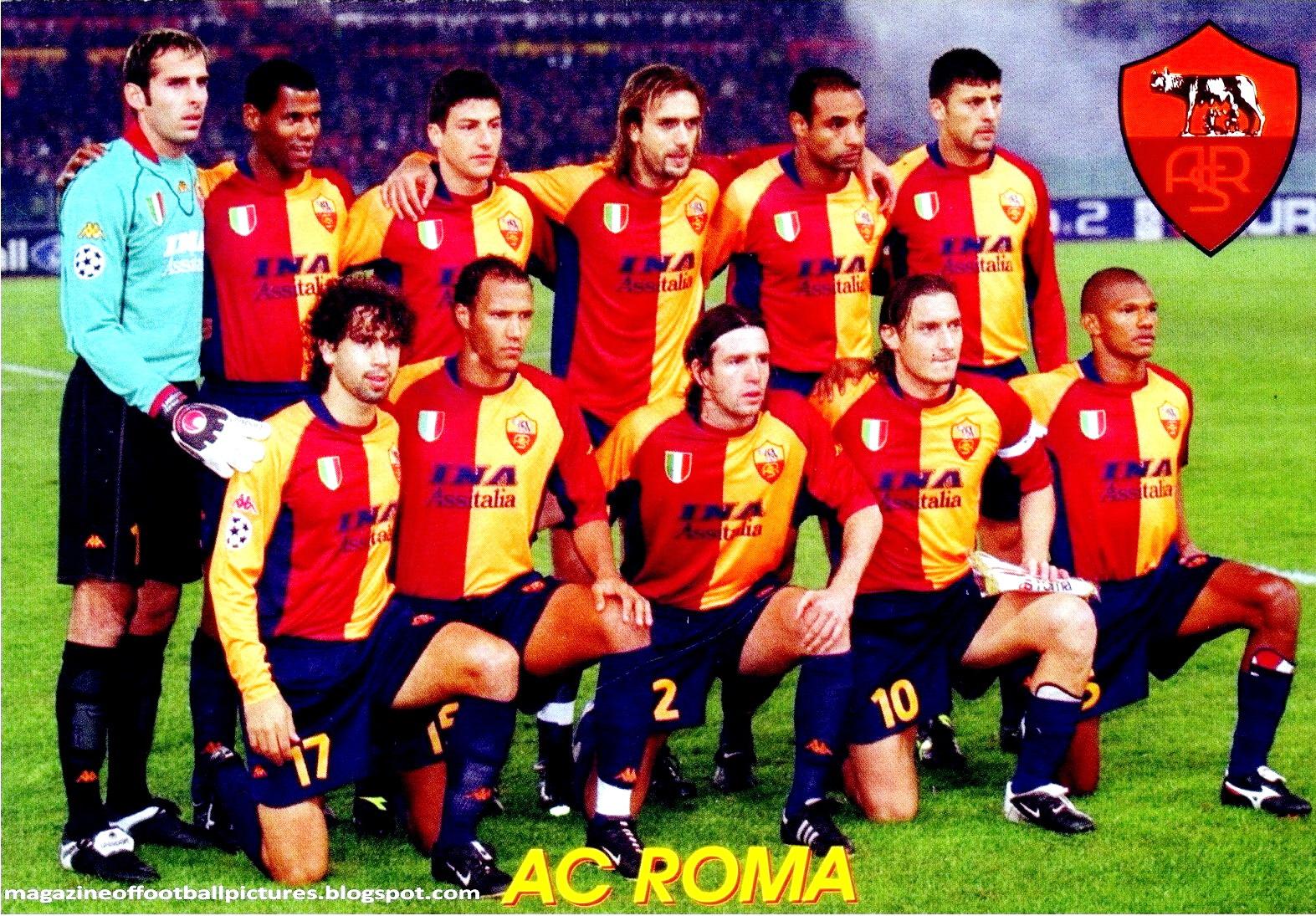 b423c0a36837e EQUIPOS DE FÚTBOL  ROMA contra Liverpool 05 12 2001