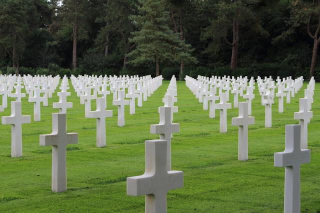 cimitero di la cambe in normandia