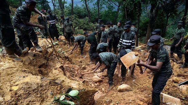 landslides in Aranayaka