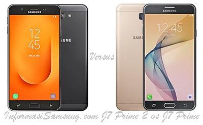 Perbandingan Samsung J7 Prime 2 vs J7 Prime