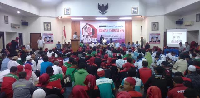 Guru Honorer dan Pengemudi Ojol Deklarasi Dukungan untuk Prabowo-Sandi