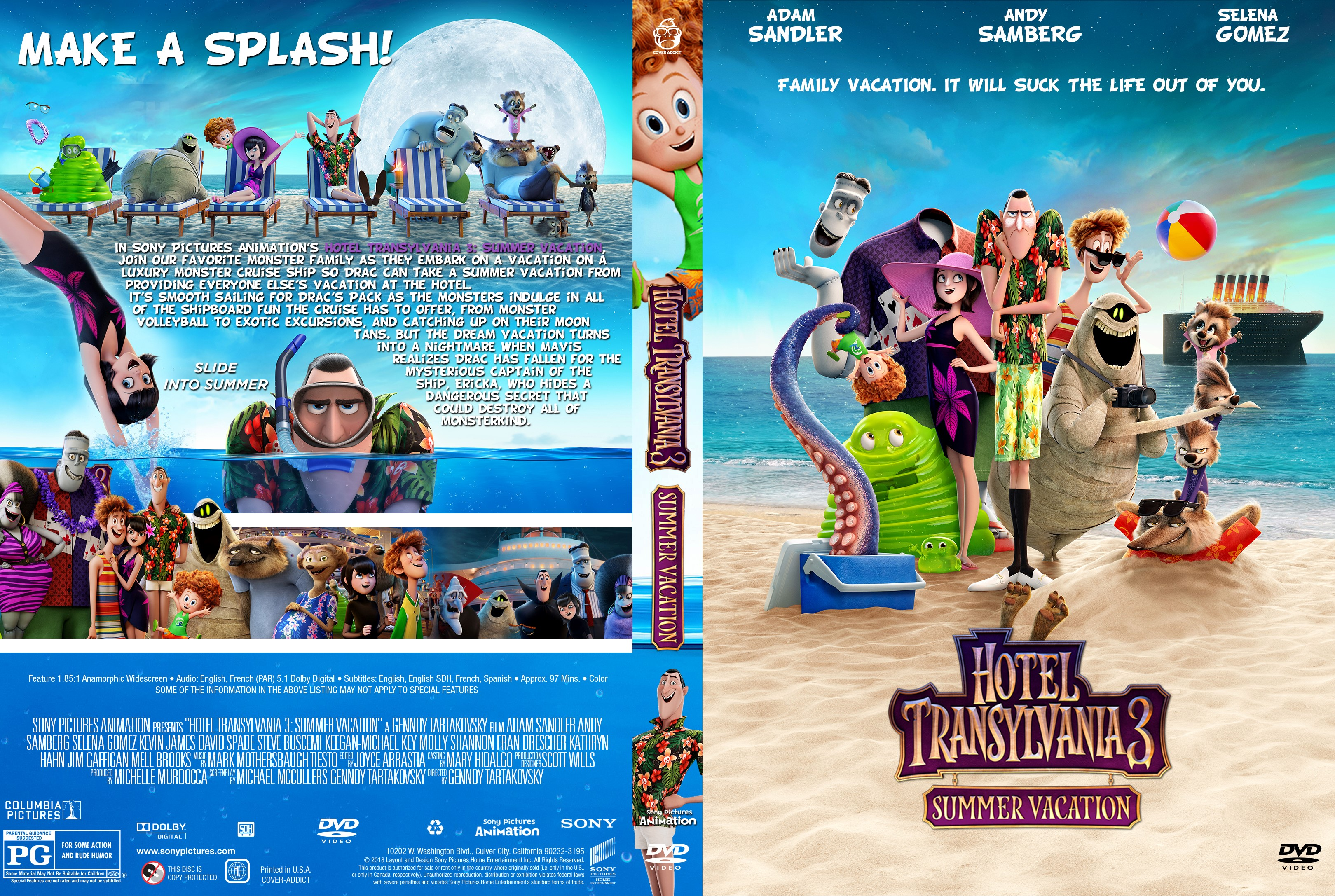 Buy This Movie AMAZON In Sony Pictures Animations Hotel Transylvania 3