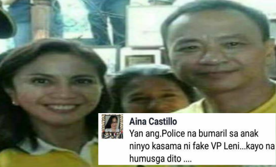 OMG! Is this true? Policeman who killed Kian delos Santos a yellow supporter?