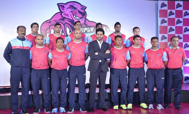 Jaipur Pink Panthers Team 2016