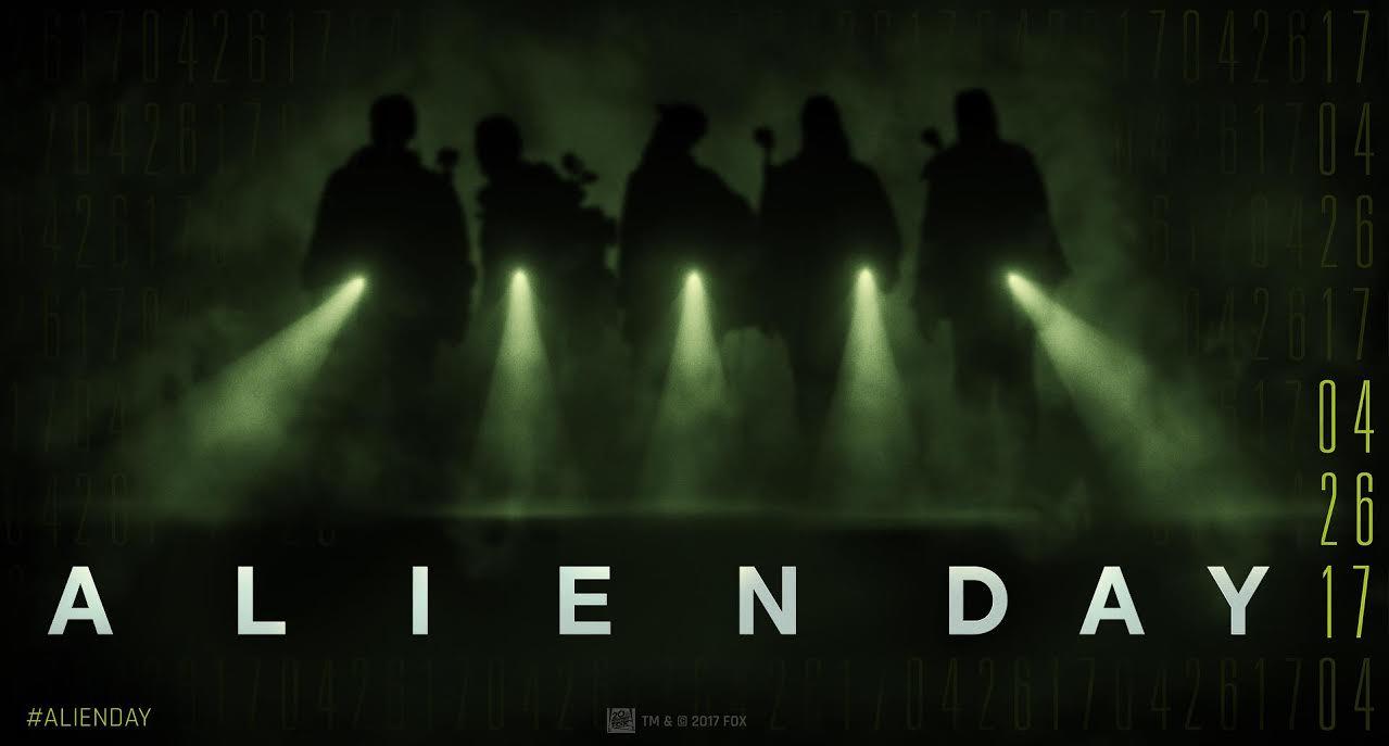 El 26 de abril por fin tendrá lugar el día de Alien