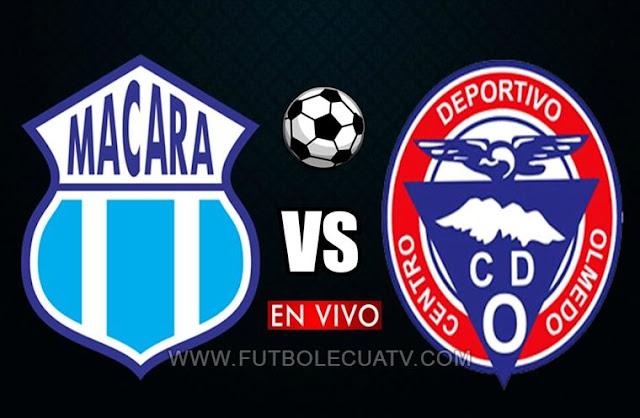 Macará y Olmedo tendrán un duelo en vivo a partir de las 18h30 horario local por la fecha 19 del torneo ecuatoriano a realizarse en el Estadio Bellavista de Ambato, siendo el árbitro principal Diego Lara con emisión del canal oficial GolTV Ecuador.