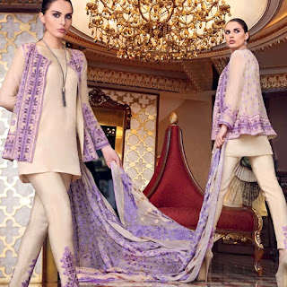 Gul Ahmed Eid Ul Fitr Dress Collection 2016-17