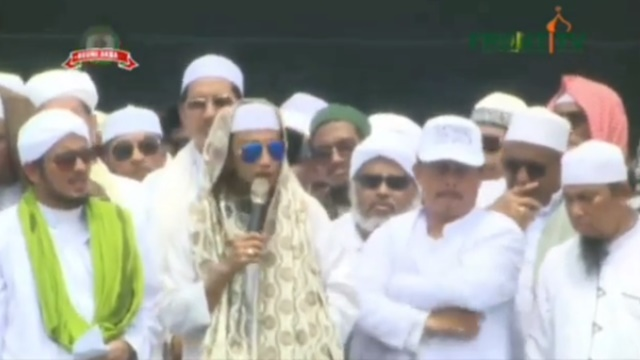 Orasi di Reuni 212, Habib Bahar Ungkap Alasannya Ceramah Sebut 'Jokowi Banci'