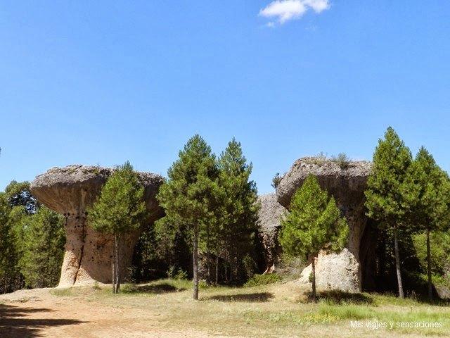 Los hongos, Ciudad Encantada, Cuenca