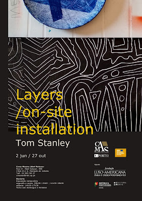 Layers /on-site installation by Tom Stanley